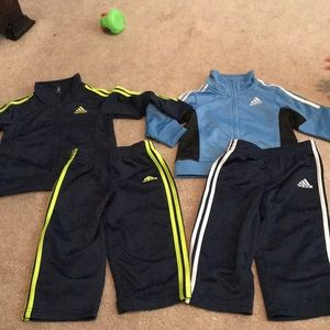 2 18m Boys adidas outfits